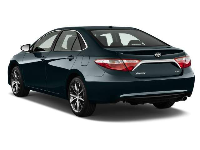 2016 Toyota Camry Rear View