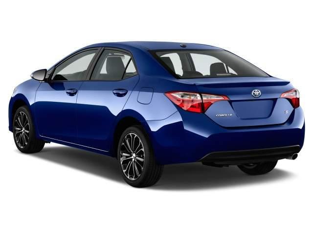 2016 Toyota Corolla Rear View