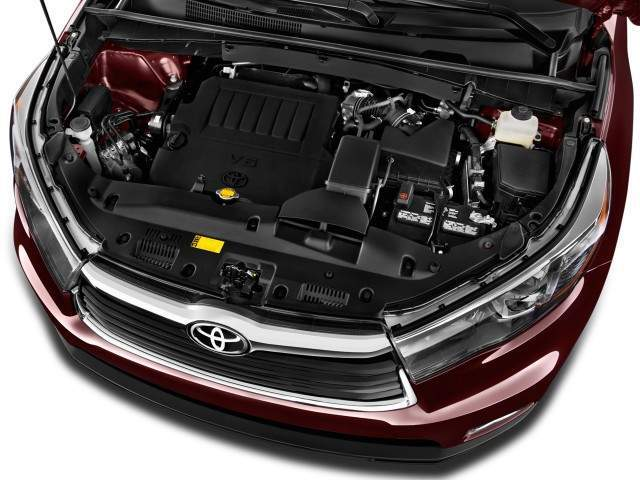 2016 Toyota Highlander Engine View