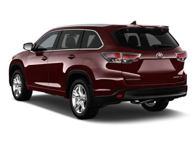 2016 Toyota Highlander Rear View