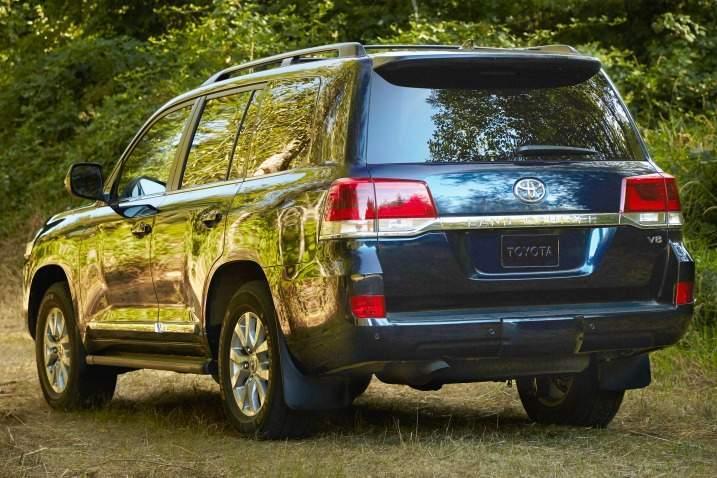 2016 Toyota Land Cruiser Rear View