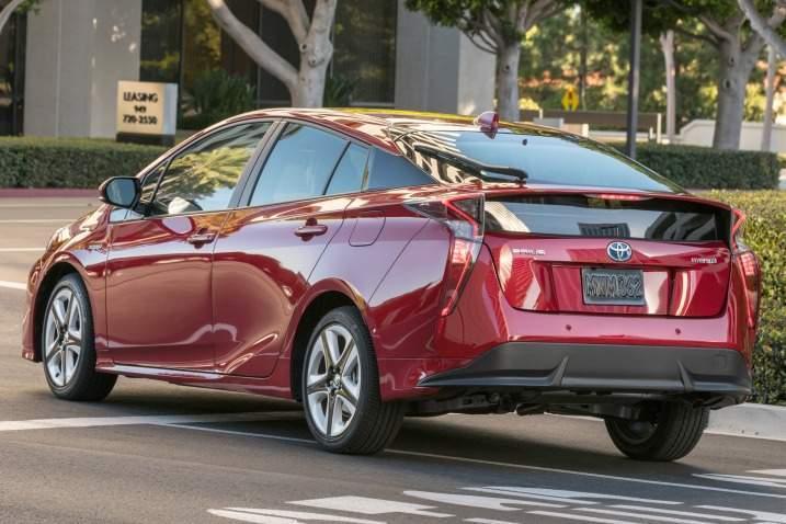 2016 Toyota Prius Rear View