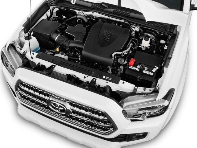2016 Toyota Tacoma Engine View