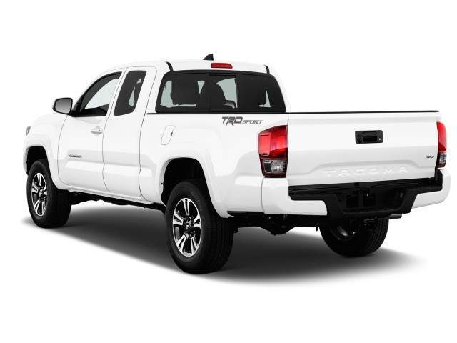 2016 Toyota Tacoma Rear View