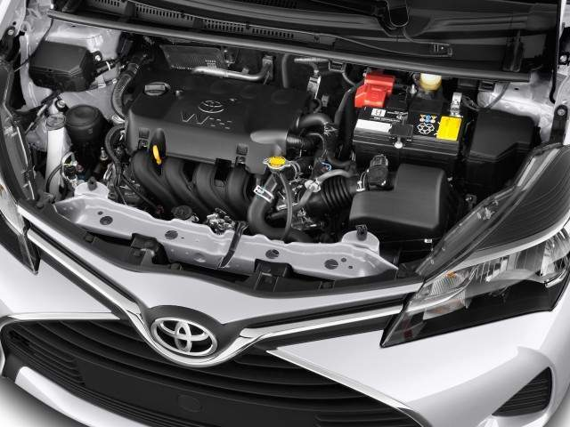 2016 Toyota Yaris Engine View