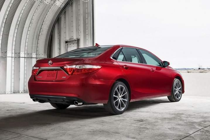 2017 Toyota Camry Rear View