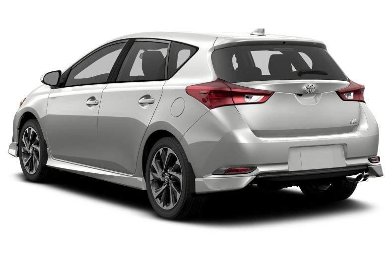 2017 Toyota Corolla iM Rear View