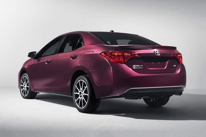 2017 Toyota Corolla Rear View