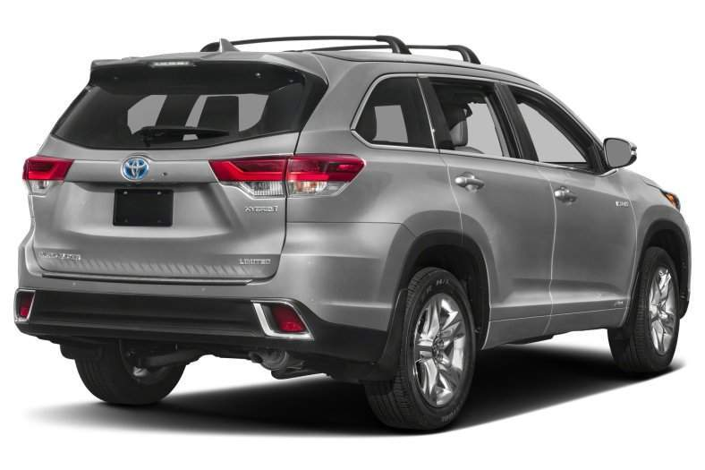 2017 Toyota Highlander Hybrid Rear View