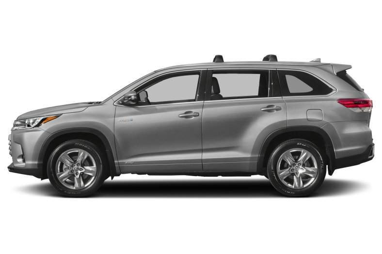 2017 Toyota Highlander Hybrid Side View
