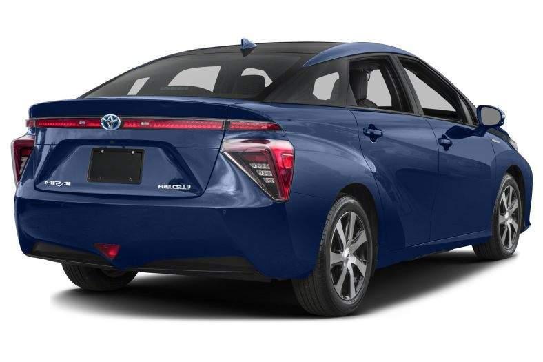 2017 Toyota Mirai Rear View