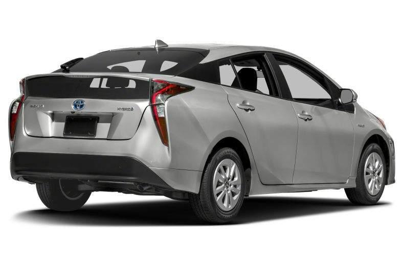 2017 Toyota Prius Rear View