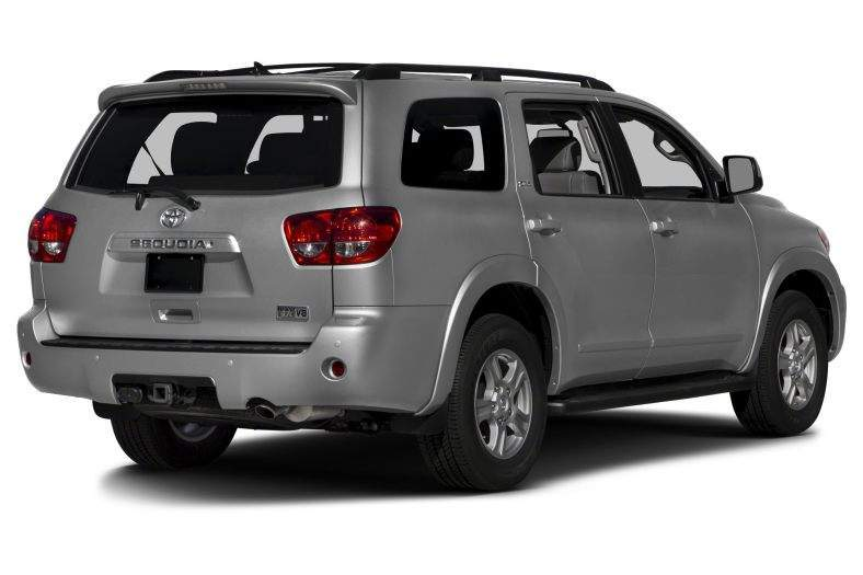 2017 Toyota Sequoia Rear View