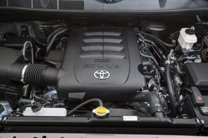 2017 Toyota Tundra Engine View