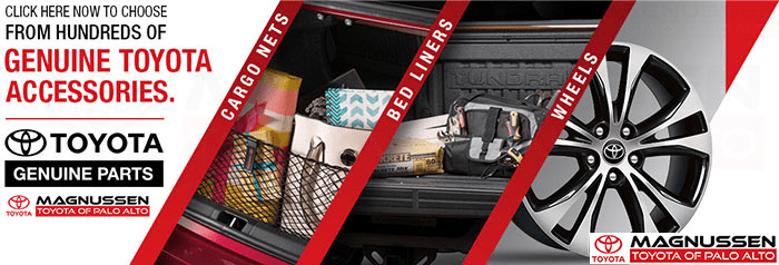 Genuine Toyota Accessories - Mountain View Toyota Parts Service