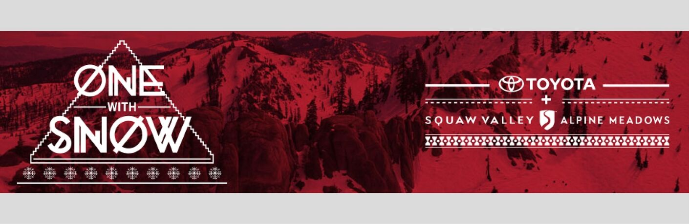 Toyota with Squaw Valley and Jonny Moseley