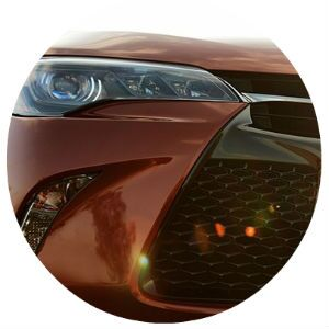 2017 Toyota Camry front grille design