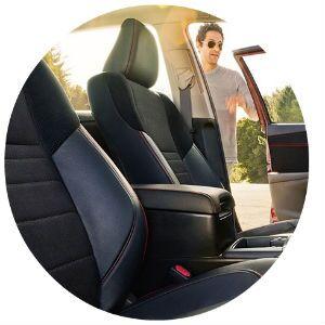 2017 Toyota Camry interior design
