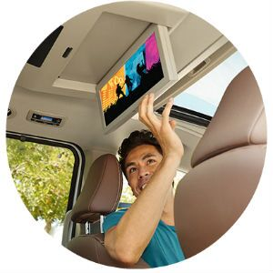 Does the Toyota Sienna have a blu-ray player?