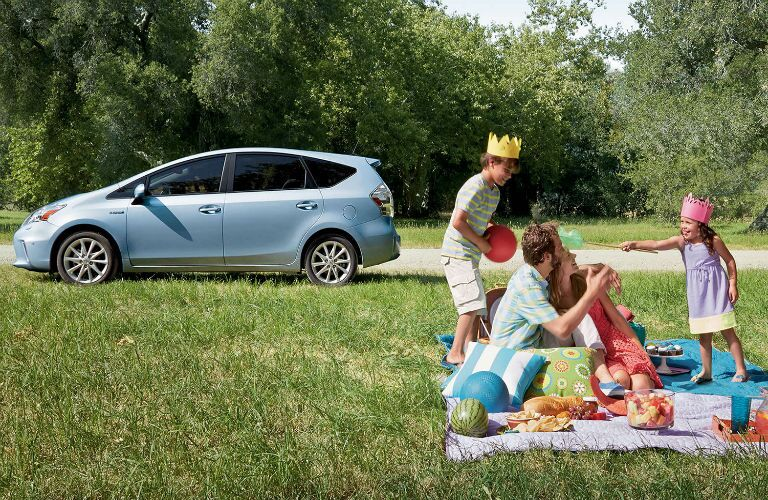 What Toyota vehicle is good for families?