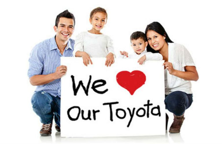 family who loves Toyota