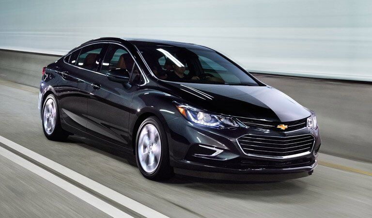 2017 Chevy Cruze in black