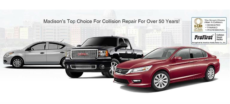 Auto Body & Collision Repair Shops in Madison WI