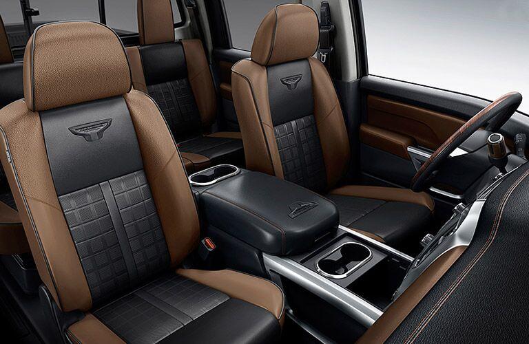 2016 Nissan Titan XD interior comforts Davis CA