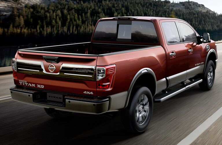 2016 Nissan Titan XD exterior design Davis CA