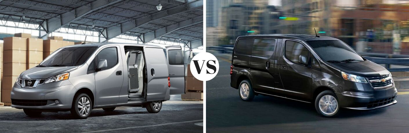 2016 Nissan NV200 vs 2016 Chevy City Express