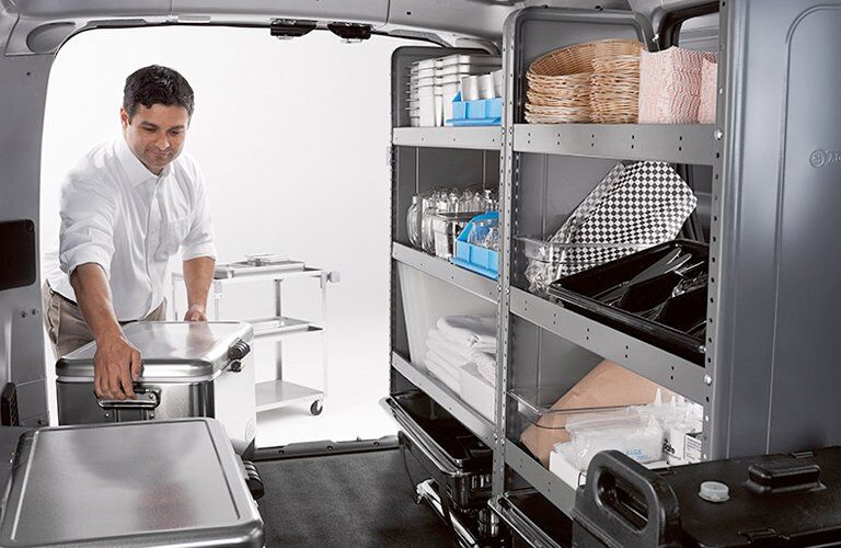 2017 NV200 Compact Cargo Smart Shelving