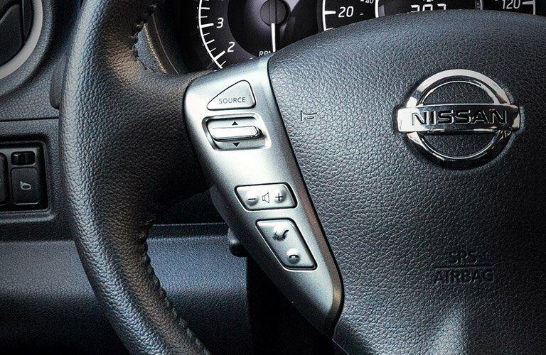 2017 Nissan Versa Note Steering Wheel Controls