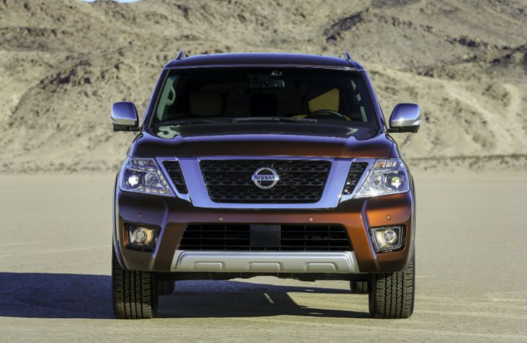 Armada Front Grille