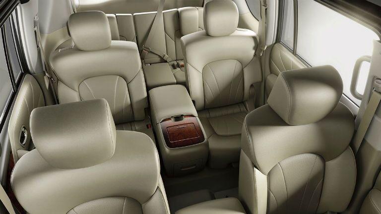 Nissan Armada spacious interior class-leading second row passenger room