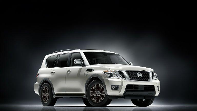 2017 Nissan Armada full-size SUV exterior design Vacaville CA