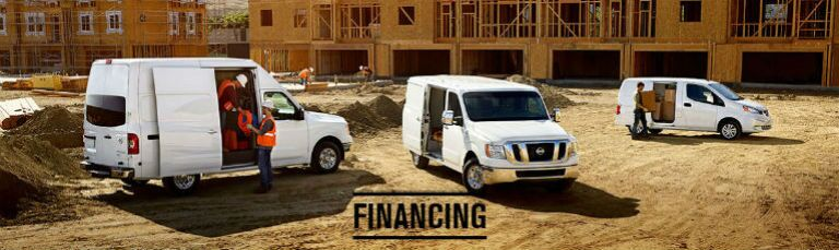 Nissan Commercial Vehicle finance application Sacramento Vacaville CA