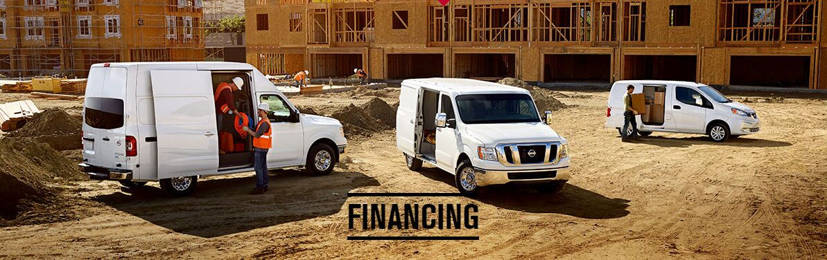 Nissan Commercial Vehicle finance application Vacaville CA