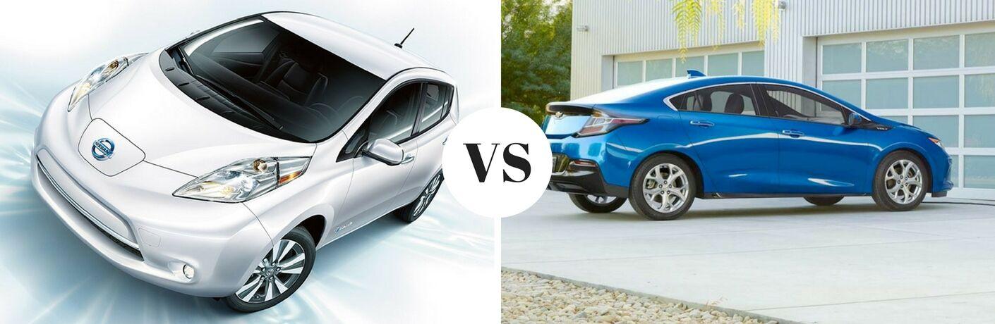2017 Nissan Leaf vs 2017 Chevrolet Volt