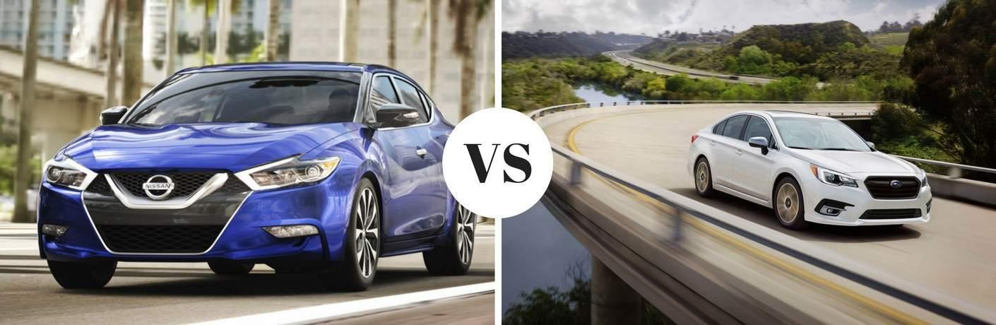 2017 Nissan Maxima vs 2017 Subaru Legacy