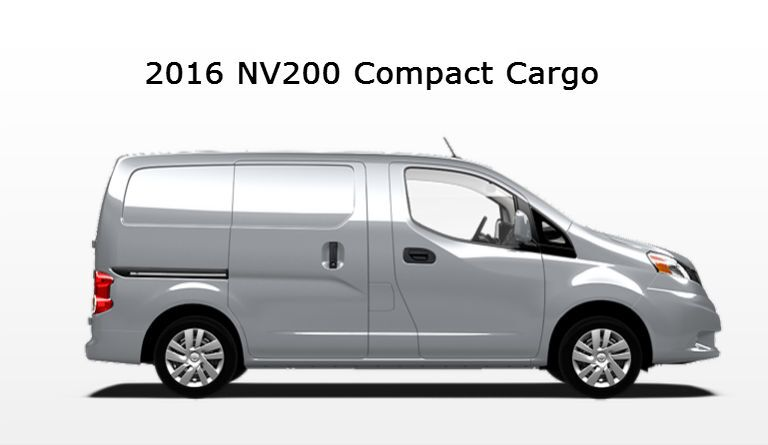 Nissan commercial vehicles 2016 models NV200 Vacaville Nissan Davis CA