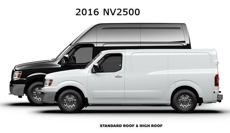 Nissan NV2500 commercial vehicle cargo options Vacaville CA