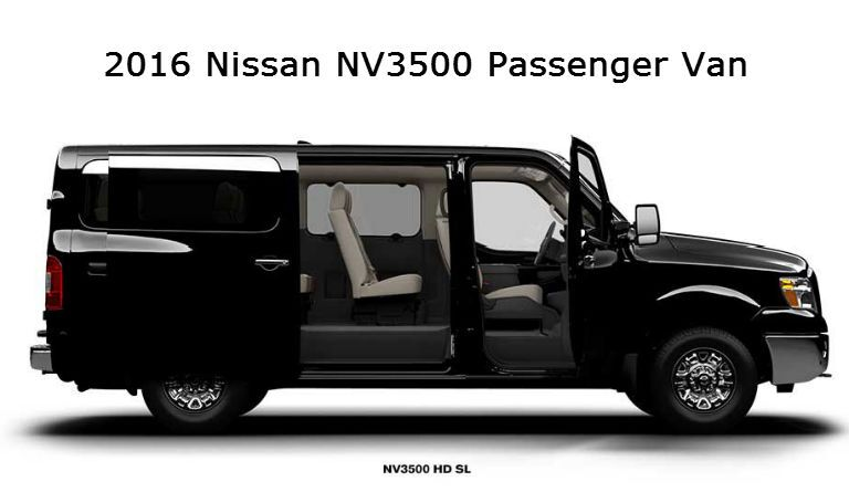 Nissan NV3500 Passenger commercial vehicle Sacramento CA