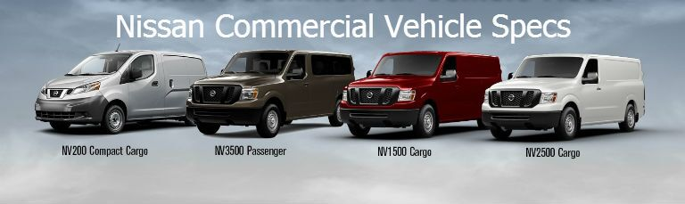 Nissan Commercial Vehicle specs Vacaville CA