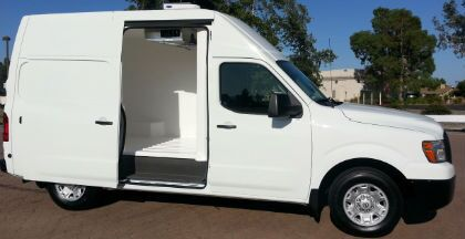 Upfitting for Nissan Commercial Vehicles Vacaville Sacramento CA NV200 NV1500 NV2500 NV3500