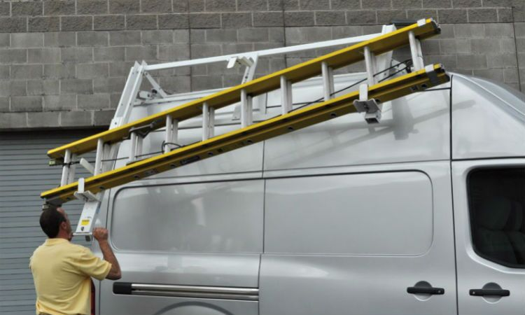 Roof rack upfitting Vacaville Sacramento Nissan Commercial Vehicles NV200 NV1500 NV2500 NV3500