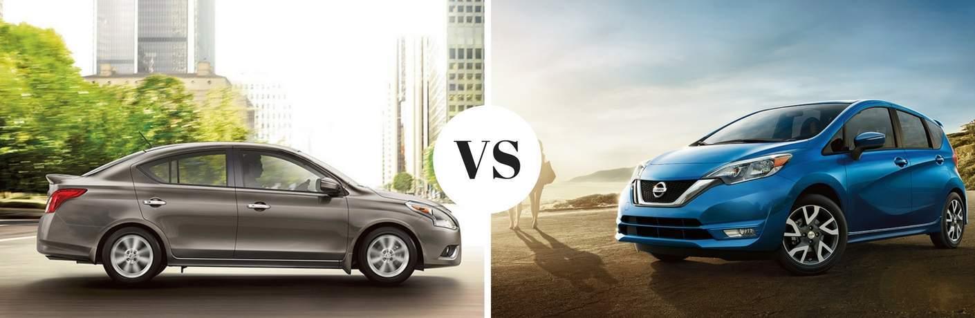 2017 Nissan Versa vs 2017 Nissan Versa Note