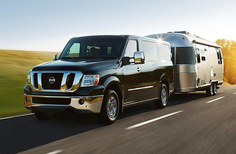 2017 Nissan NV Passenger Towing