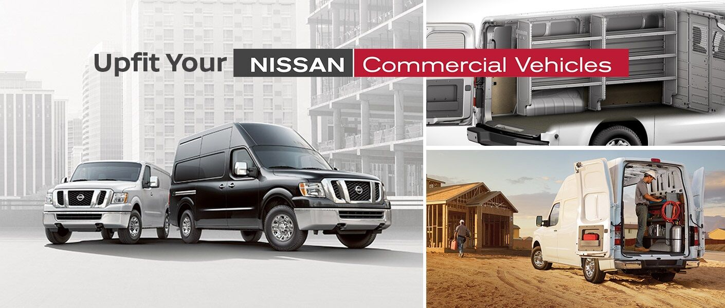 Nissan Commercial Vehicle NV200 NV1500 NV2500 NV3500 upfit gallery