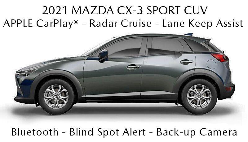 2021 Mazda CX-3 incentives and rebates