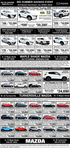 New - Pre-Owned and Certified